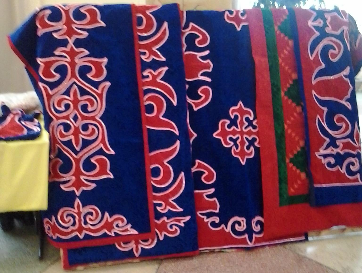 Традиционный вид народного прикладного творчества казахские корпе 6