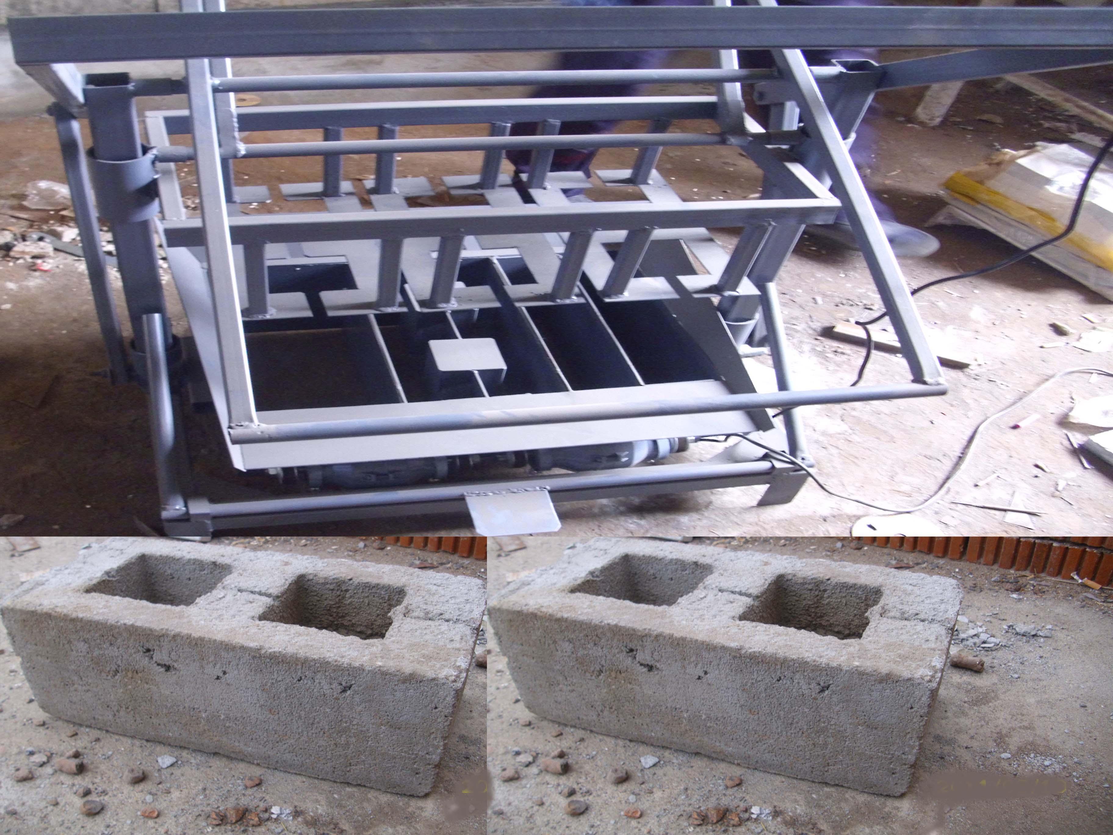 Чертежи самодельного станка для производства шлакоблока 31